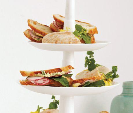 shaved radish sandwiches with herb butter sandwich y sandwich ...