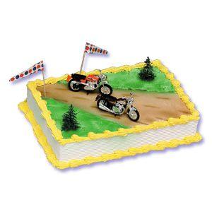 Dirt Bike Cake Decorating Kit