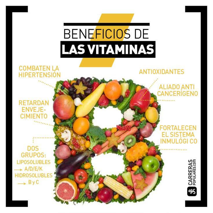 La importancia de ser un corredor vitaminado. Conoce las vitaminas fundamentales para los deportistas