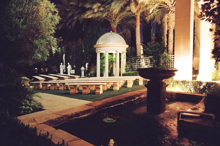 Venus Garden Caesars Palace. The location for our