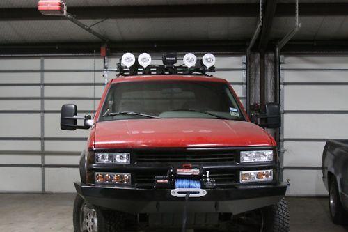 Custom Winch Bumper For Chevy Gmc Trucks 1988 1998 Chevy
