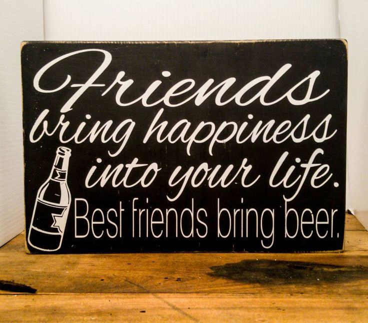 Best Friends Bring Beer - CountryLiving.com