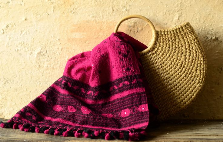 Bhujodi Handwoven stole ~ Pure wool to comfort you through your daily chores and…