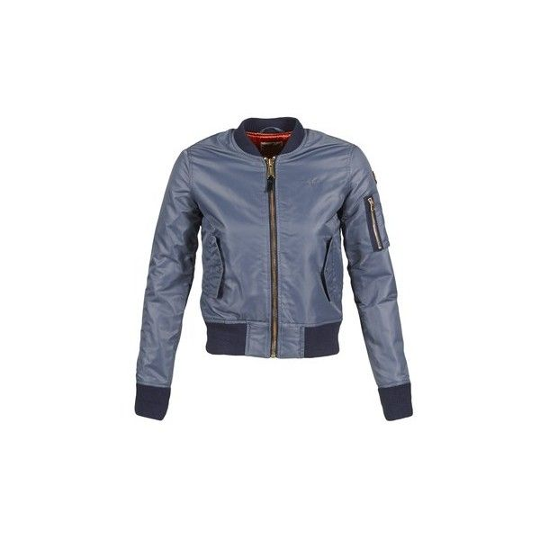 Schott BOMBER BY SCHOTT Jacket (300 BGN) ❤ liked on Polyvore featuring outerwear, jackets, grey, women, grey jacket, bomber jacket, grey bomber jacket, bomber style jacket and gray jacket
