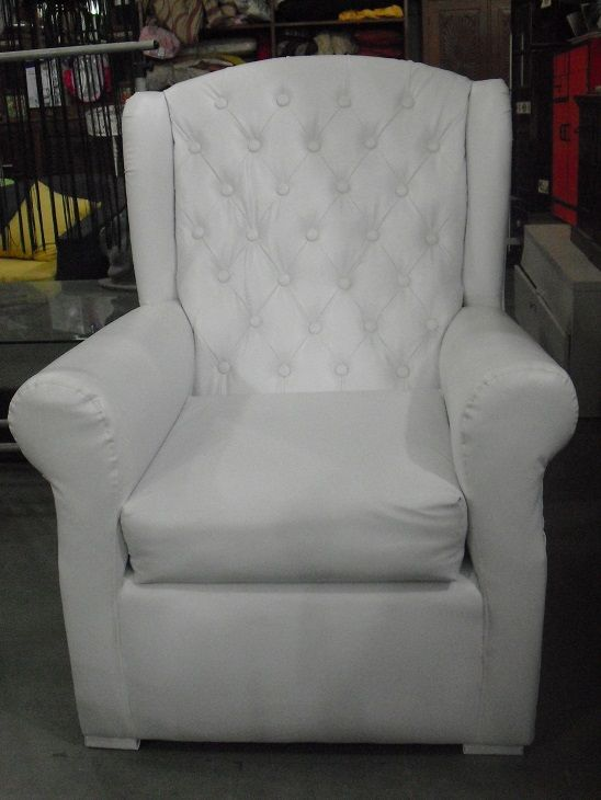 Big Sofa Chair Features : Good Condition, Most Comfortable, Stylish, White  Color,