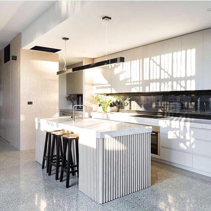 Kitchen Flooring #terrazzo