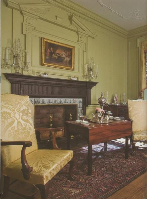 BOOK Traditional American Rooms Henry DuPonts Winterthur Wilson Kelsey Design Blog