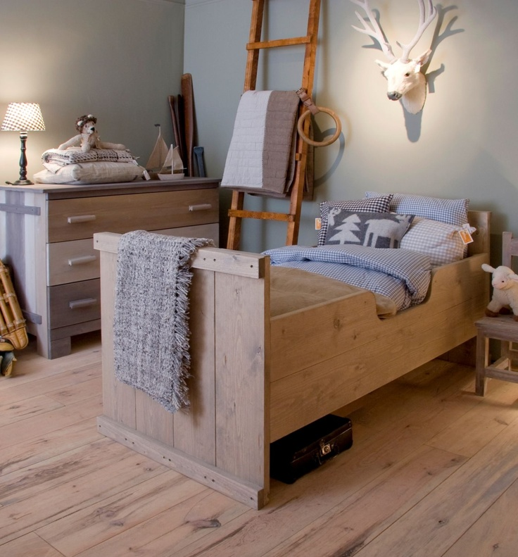 Kinderbed Ketelbinkie hout | Wooden bed for the #kidsroom
