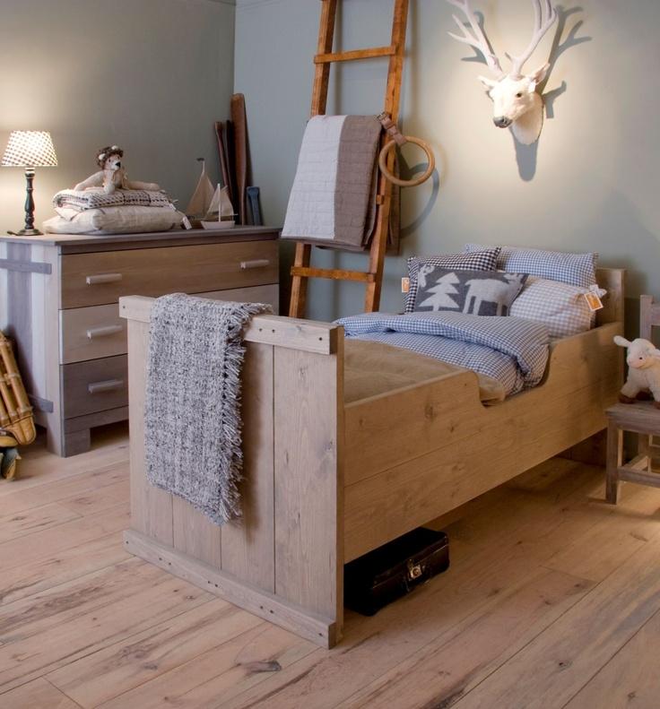 Kinderbed Ketelbinkie hout   Wooden bed for the #kidsroom