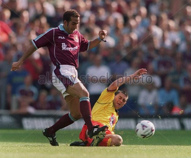 West Ham 1 Watford 0 in Sept 1999 at Upton Park. Paolo Di Canio scores the only goal of the game #Prem