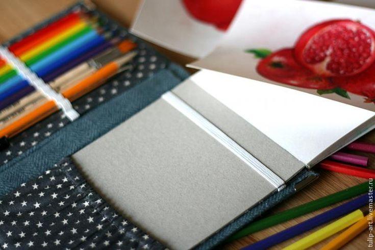 Делаем сами: карманный органайзер для рисования - Ярмарка Мастеров - ручная работа, handmade