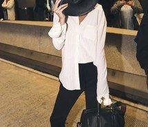 Inspiring image bag, black, celebrity, hat, kendall jenner #4434837 by olga_b…