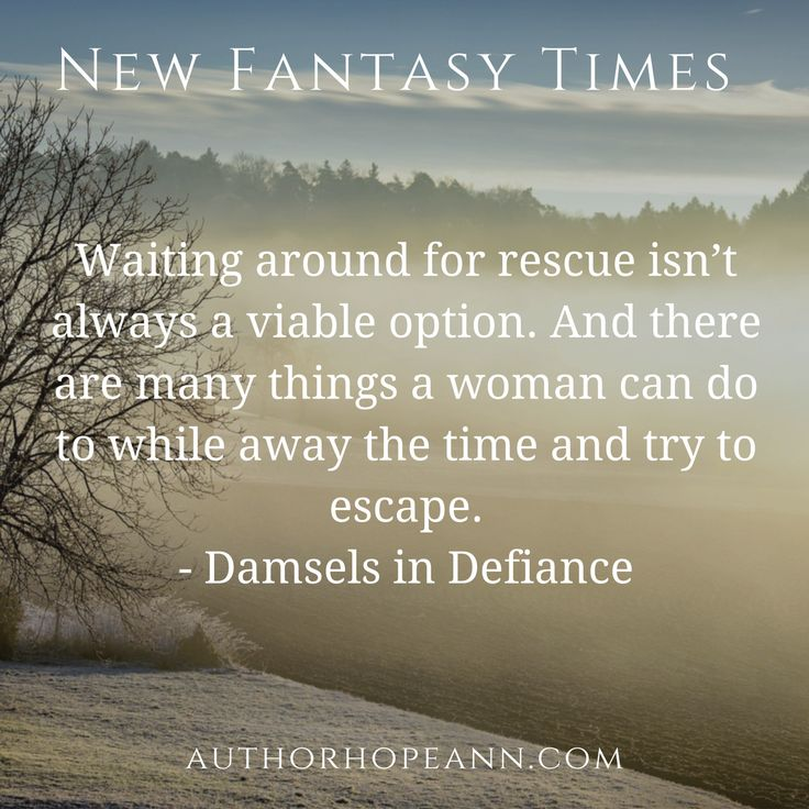 A satirical article on damsels in distress stereotypes: https://authorhopeann.com/new-fantasy-times-2/