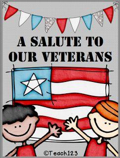 Veterans Day - FREEBIE www.operationwearehere.com/veteransday.html