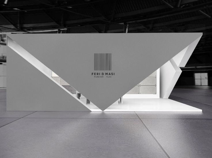 This is a Preview vs Final Result of the FERI & MASI Ceramic Tiles  exhibition stand @ CERSAIE event this September 2016.Architecture with strong japanese influence.