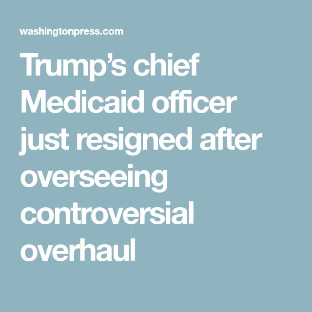 Chief Medical Officer Job Description Trumps Chief Medicaid Officer