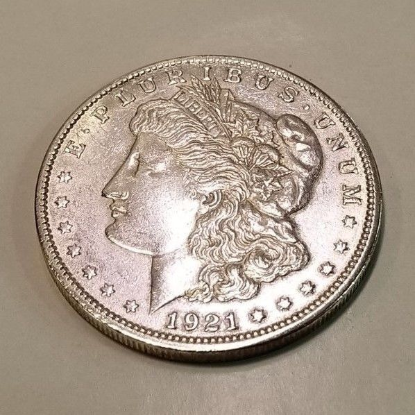 1921 1 Morgan Silver Dollar Coin Auctions Morgan Silver Dollar Numismatics