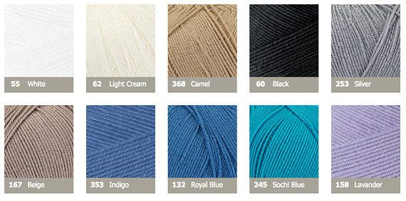 ALIZE DIVA STRETCH elastic yarn hand knit yarn Microfiber