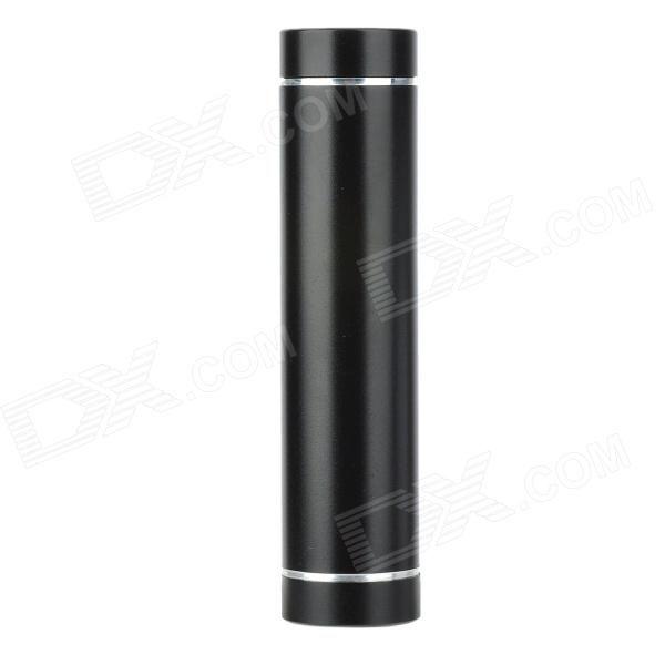 Universal Portable 2600mAh Power Bank for Ipad / Iphone / Ipod / MP3 / MP4 + More - Black