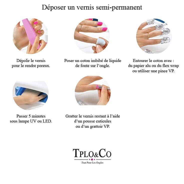 Voici comment on dépose votre vernis Semi permanent sans abîmer votre ongle!! Plus rapide et plus safe!! The Home Beauty Center