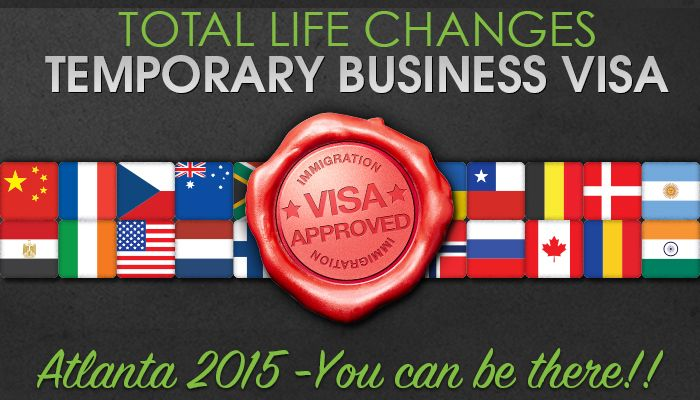 Temporary Business Visitor Visa Application Instructions We want to see you at our U.S. Events. Apply for your temporary business visitor visa today. How t