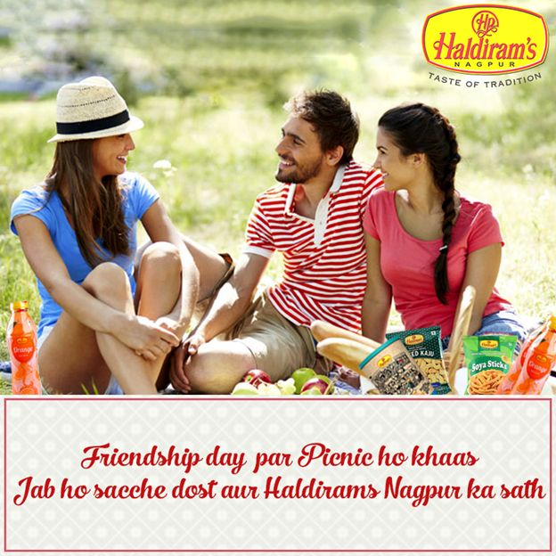 Friendship Day with Haldirams Happiness ...