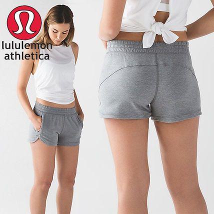 lululemon☆ ソフトで柔らか! スウェット・ショートパンツ☆ #lululemon #ルルレモン #ヨガ #yoga #ヨガウェア #スポーツウェア #ショートパンツ #shortpants #sweatpants #buyma #バイマ