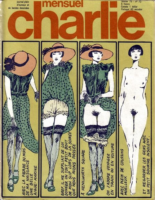 Guido Crepax bande dessinée cover, 1975