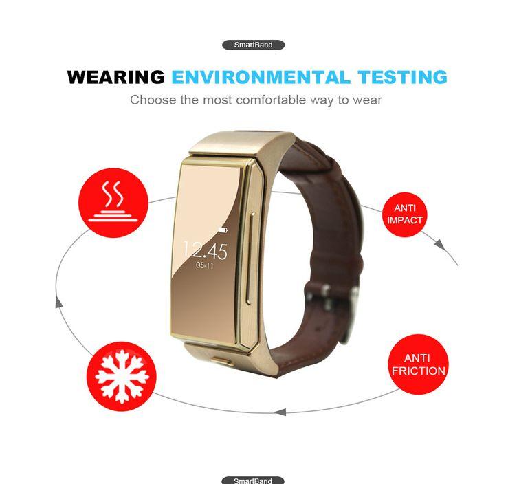 Uwatch U20 Umini Smart Bracelet watch + Earphone / headset MTK2502 Heart Rate Monitor Bluetooth Fitness Tracker Digital Guru Shop