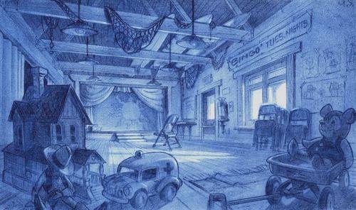 Visual Development from Lilo & Stitch by Michael Spooner