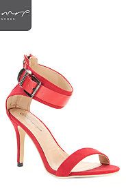 BUCKLE STRAP STILETTO