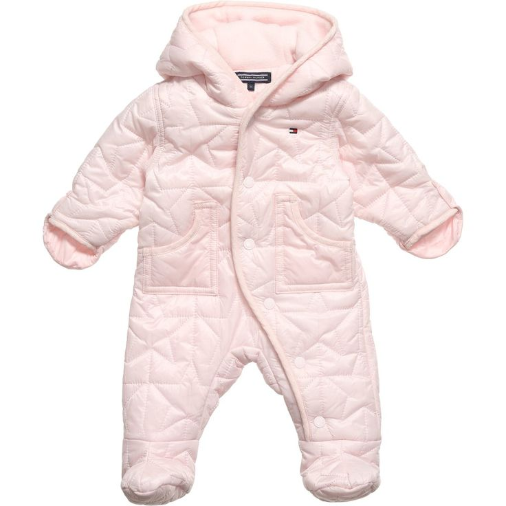 Tommy Hilfiger Baby Girls Padded Snowsuit At Childrensalon