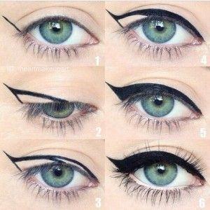come applicare eyeliner