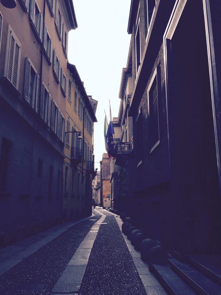 Milan Street  #milan#street#purple#pavement#beautyful#explore