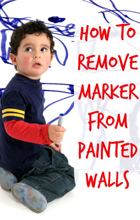 how to remove marker from paint clean it walls pinterest markers how to remove and paint. Black Bedroom Furniture Sets. Home Design Ideas