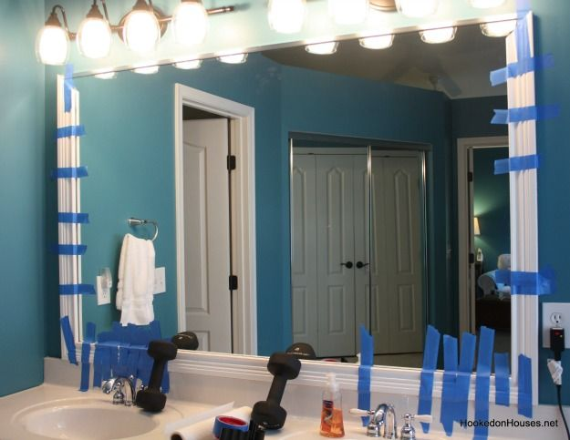 Framing Bathroom Mirrors With Crown Molding 46 best bathroom images on pinterest | bathroom ideas, home and