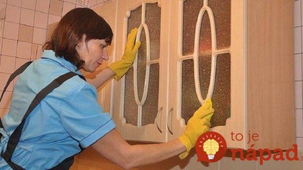 Zabudnite na to, ako vyzerala kuchyňa predtým: Špina a mastnota vám zmiznú priamo pred očami – škoda, že sme tieto triky nepoznali skôr!