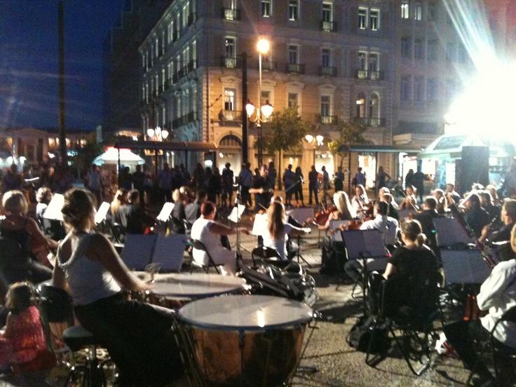 Street concert