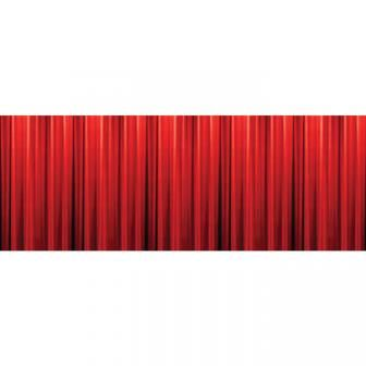 Wanddeko roter hollywood vorhang 305 x 125 cm hochzeit dekoration u a ganz gro es - Dekoration kino ...