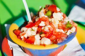 Bahamian Conch Salad | Taste the Islands
