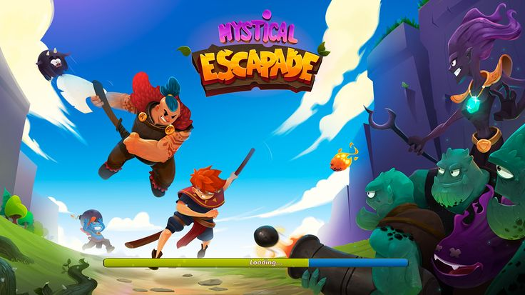 """Concept for the game """"Mystical Escapade"""" on Behance"""