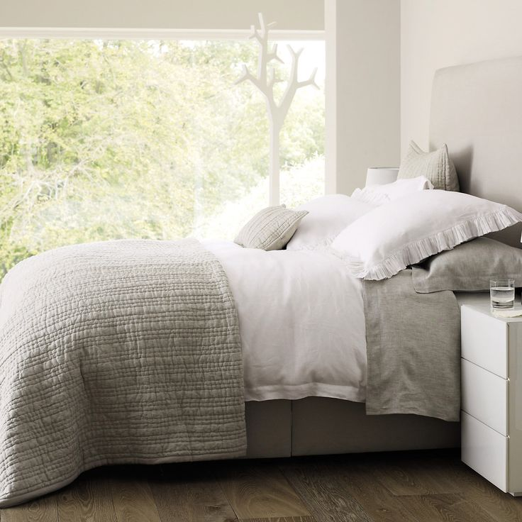 Buy Bedroom > Bedspreads & Cushions > Oslo Bedspread from The White Company