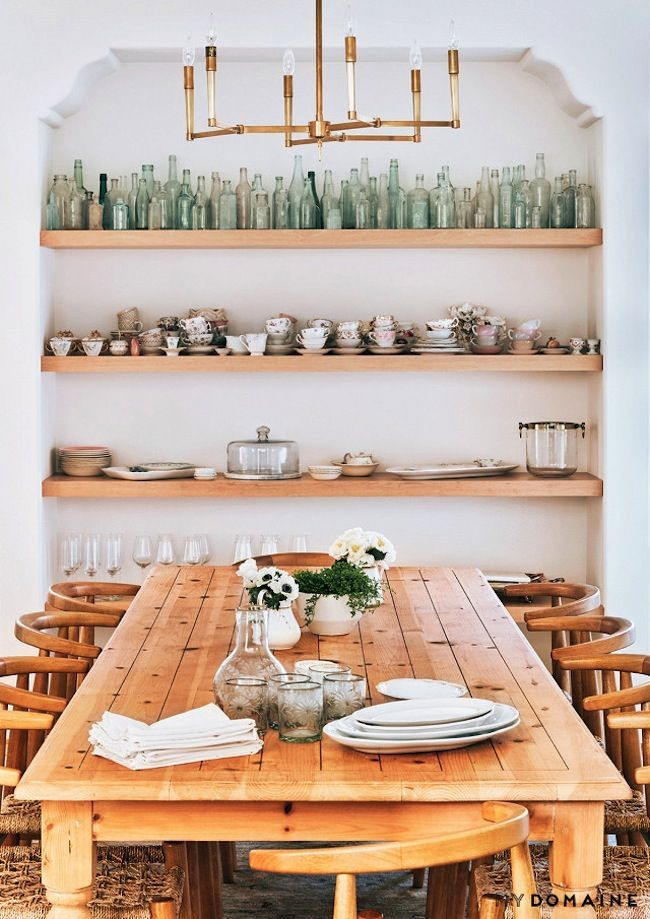 1000 ideas about table shelves on pinterest couch dining table outdoor bedroom and diy - Dining room shelves ...