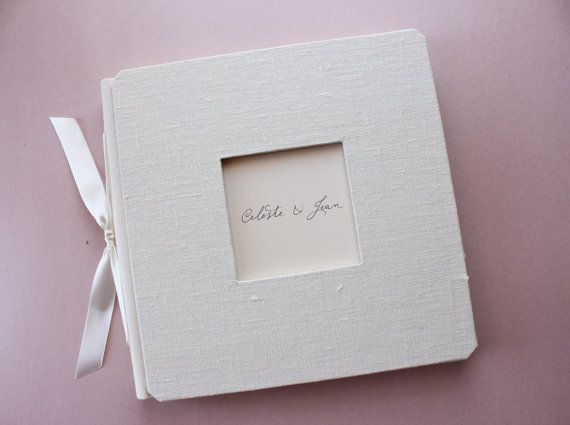 Why a Handmade Guest Book is Better