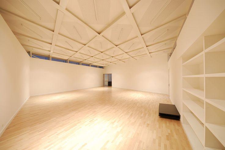 Centre Culturel André Malraux à Vandoeuvre, Meurthe et Moselle,  Giovanni Pace Architecte salle de danse
