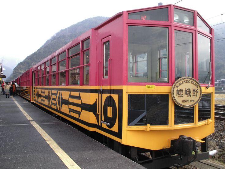 京都を訪れたら一度は乗ってみたい嵯峨野トロッコ列車