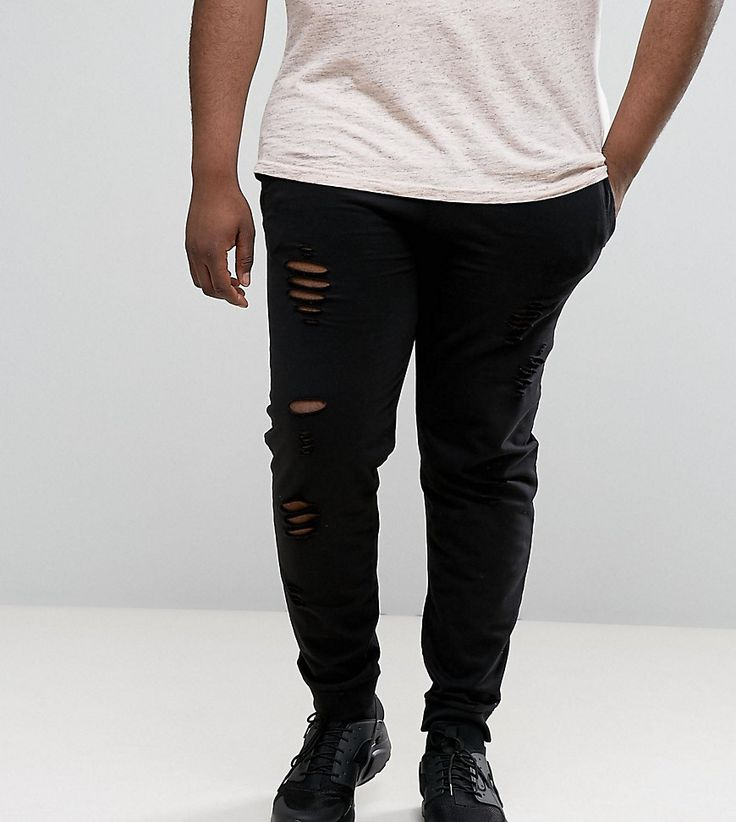 Get this D-struct's joggers now! Click for more details. Worldwide shipping. D-Struct PLUS Distressed Jersey Jogger Trousers - Black: Trousers by D-Struct PLUS, Soft-touch jersey, Distressed finish, Drawstring waistband, Side pockets, Tapered leg, Fitted cuffs, Slim fit - cut close to the body, Machine wash, 100% Cotton, Our model wears a size XXXL Regular and is 185.5cm/6'1 tall. (joggers, jog, jogger, joggers, jogging, joggings, jogger, joggers, joggeurs, joggers)