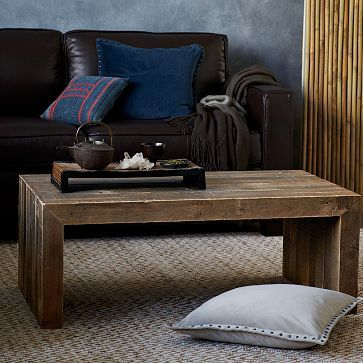 Emmerson Reclaimed Wood Coffee Table Lovely Home Pinterest - West elm emmerson coffee table