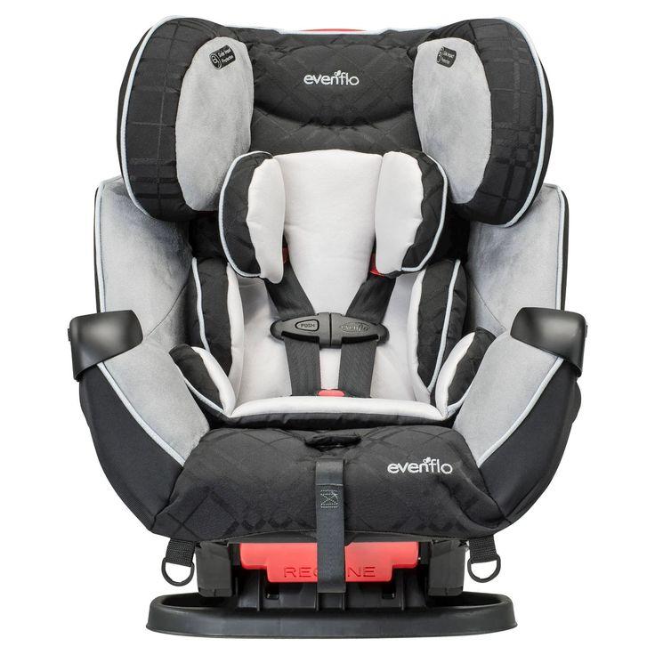 Evenflo symphony lx 3in1 convertible car seat crete