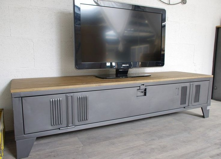 20 best Meubles TV images on Pinterest Industrial furniture - Magasin De Meubles Plan De Campagne